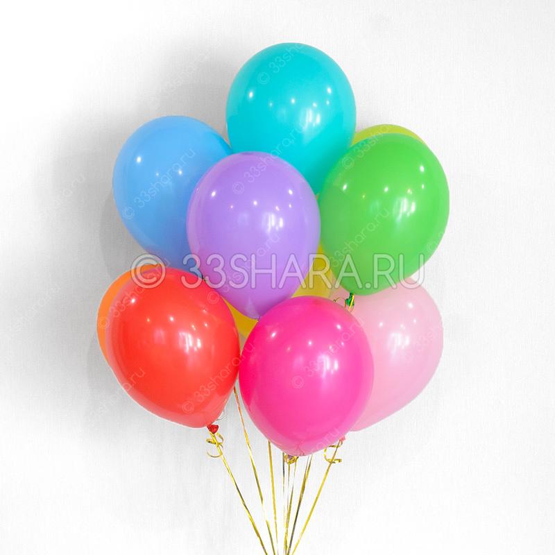 Гелиевые шары 12 дюймов пастель