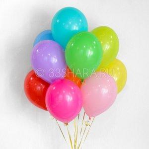 Гелиевые шары 12 дюймов пастель - время полета от трех дней