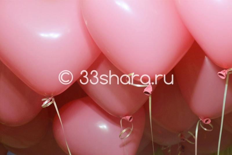 16' Сердца розовые