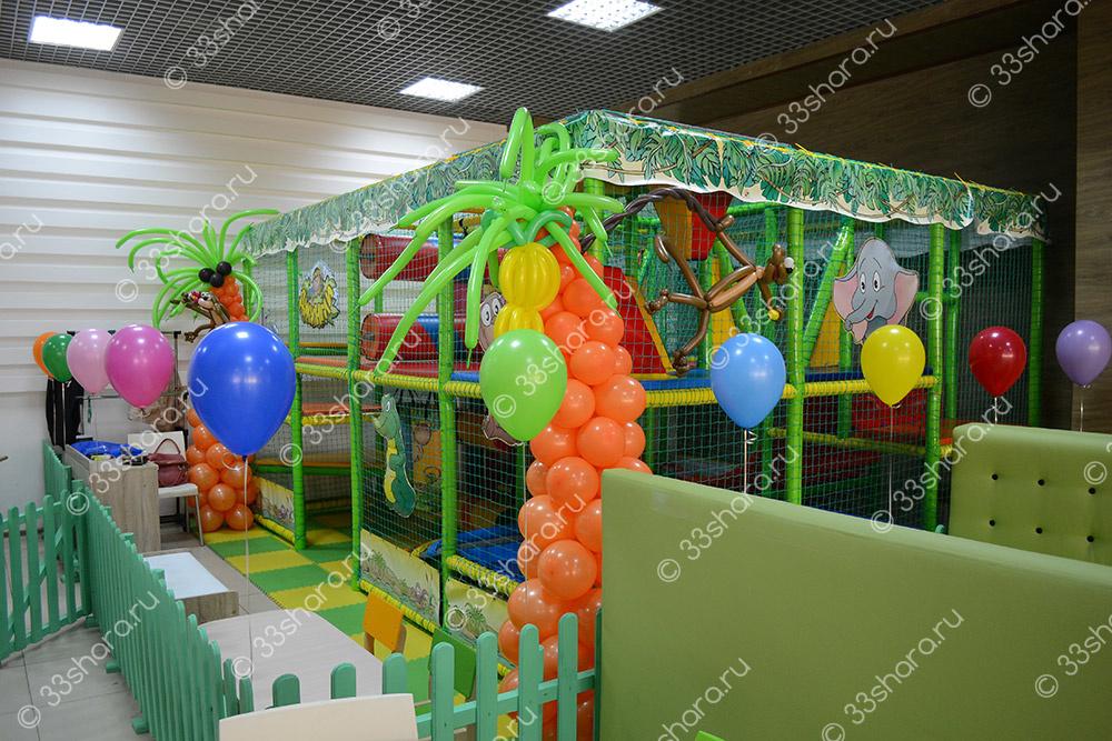 """Открытие детского игрового центра в кафе """"Тарелка"""" гипермаркет Бимарт"""