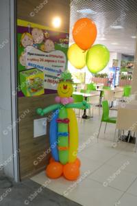 Клоун с гелиевыми шариками - детский игровой центр Бимарт