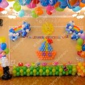 Оформление выпускного в детском саду во Владимире