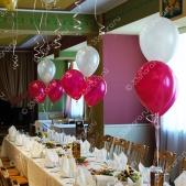 """Украшение столов фонтанами – ресторан гостиницы """"Клязьма"""""""