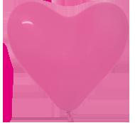 012-сердце фуксия (малиновый)