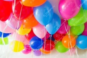 Гелиевые шарики 12 дюймов ассорти пастель