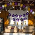 Ресторан Утес - оформление зала на выпускной