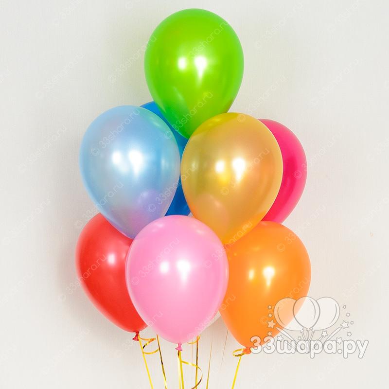 Гелиевые шары перламутровые