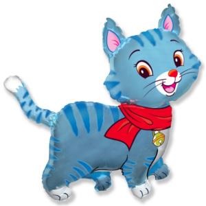 Фольгированный шарик любимый котенок с гелием