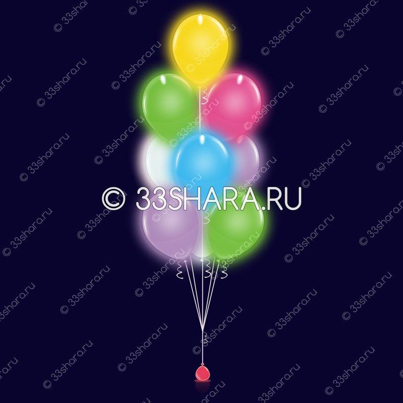 Фонтан-из-10-светящихся-шаров