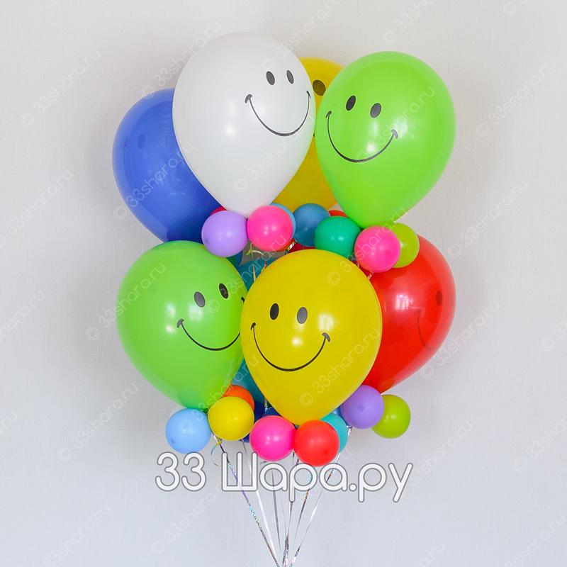 Веселые джентльмены из воздушных шаров во Владимире