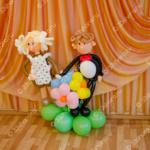 Фигурки школьников - оформление выпускного в садике во Владимире