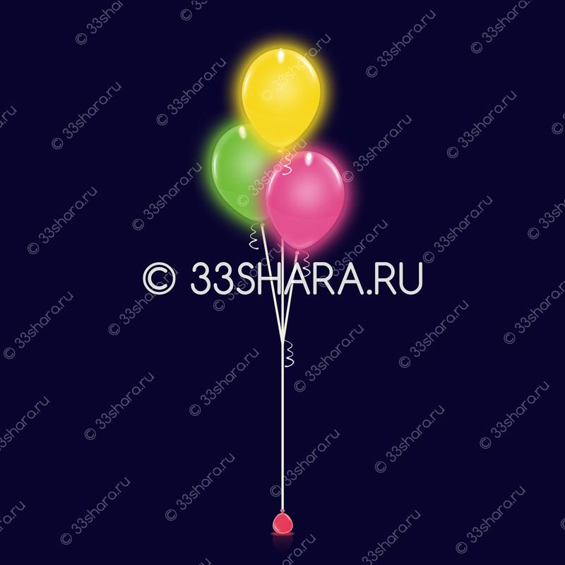 8-07 Фонтан-из-3-светящихся-шаров