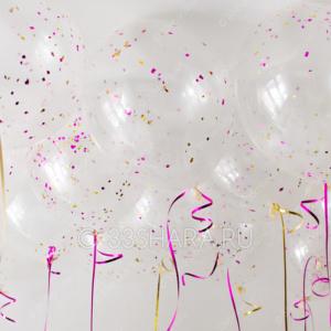 4-48-3 Гелиевые шары с конфетти