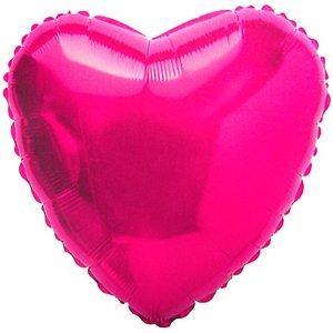малиновое сердце