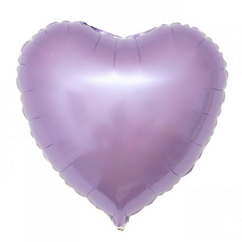 лиловое сердце