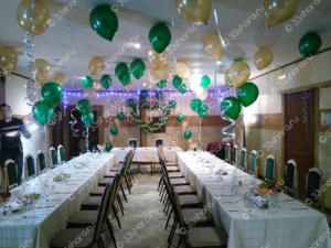 Оформление свадьбы воздушными шарами во Владимире