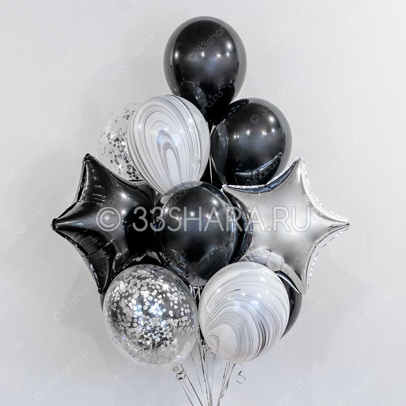 """Набор шаров """"Черный оникс"""""""