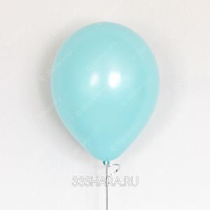 Гелиевый шарик аквамарин