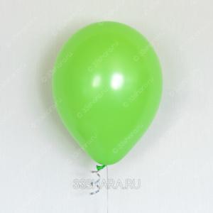 Гелиевый шарик лайм