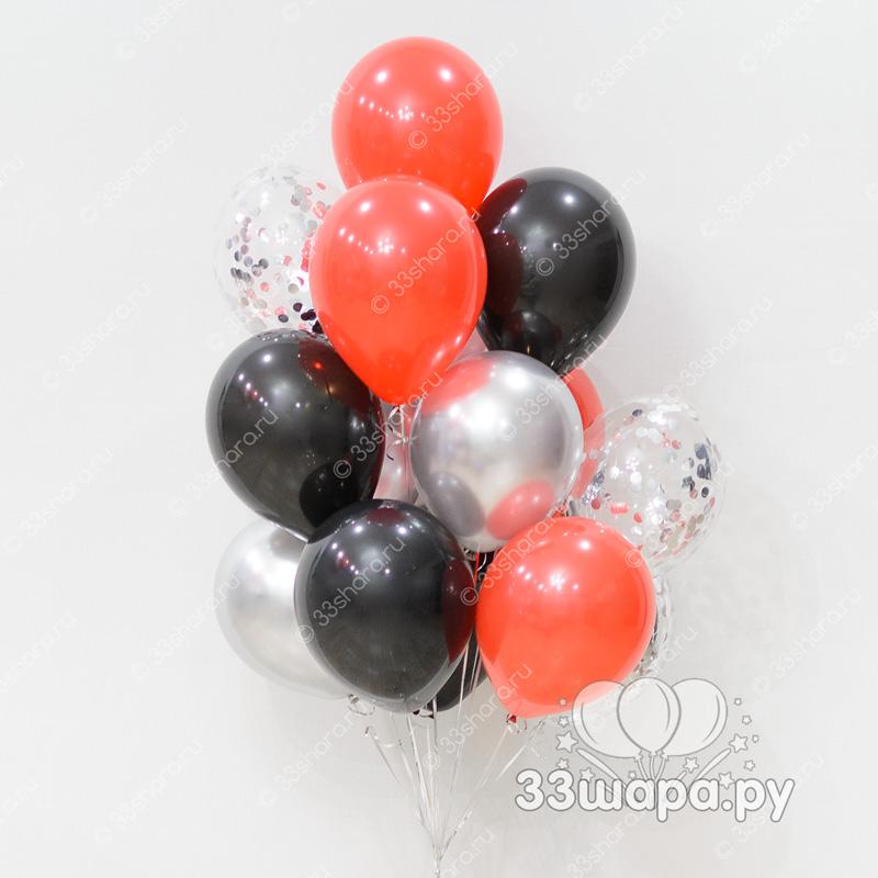 """Набор шаров """"Красное и черное"""""""