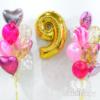 """Набор шаров """"Сочная ягода"""" с цифрой"""
