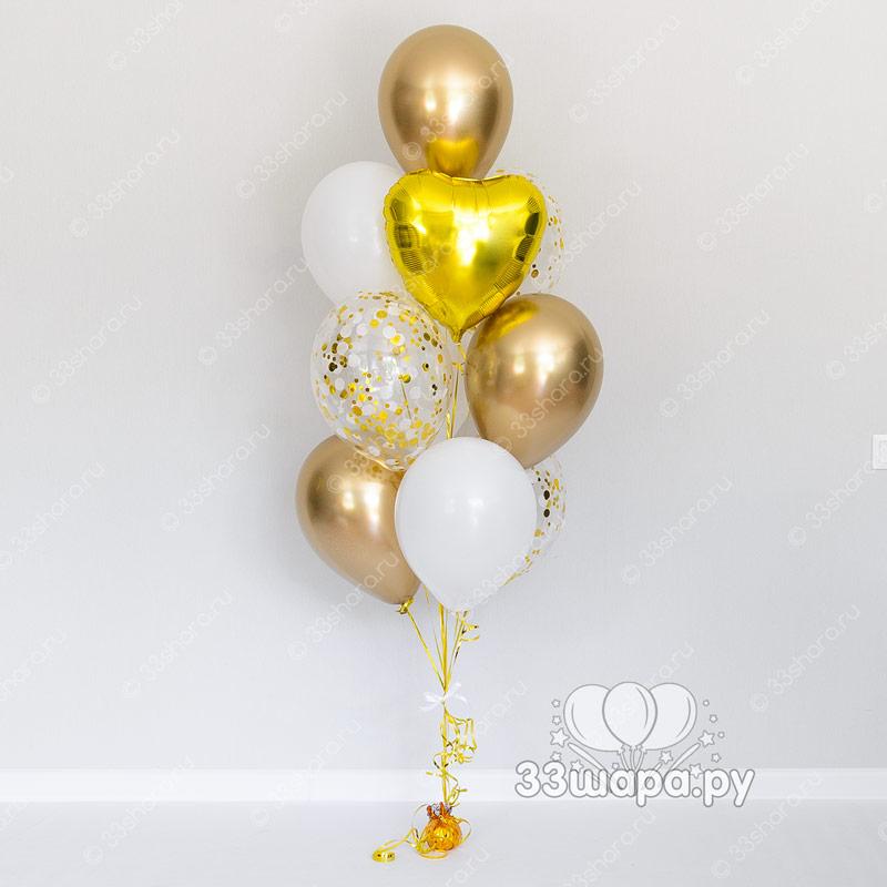 """Набор шаров """"Золотая нить"""""""