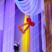 Колокольчик из шаров – оформление последнего звонка