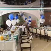 Оформление свадьбы шарами — банкетный зал ледового дворца «Полярис»