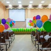 Оформление сцены на последний звонок в школе во Владимире