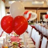 Оформление зала на свадьбу — ресторан «Гурман», г.Покров