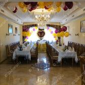 Свадебное оформление зала — кафе «Эдем»