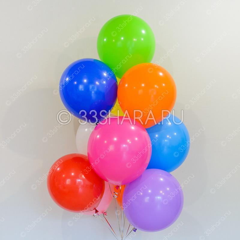 4-08 Большие круглые шары с гелием 18 дюймов