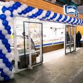 Оформление торговой площадки магазина «Капитан» — ТЦ «Ополье»