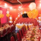 Оформление свадьбы кафе «Комета»