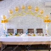 Оформление зала в ресторане «Красносельский»
