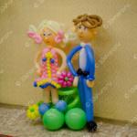 Фигурки школьников из шаров – украшение выпускного в детском саду во Владимире