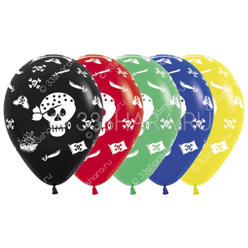 4-39 Гелиевые шары Пираты! во Владимире