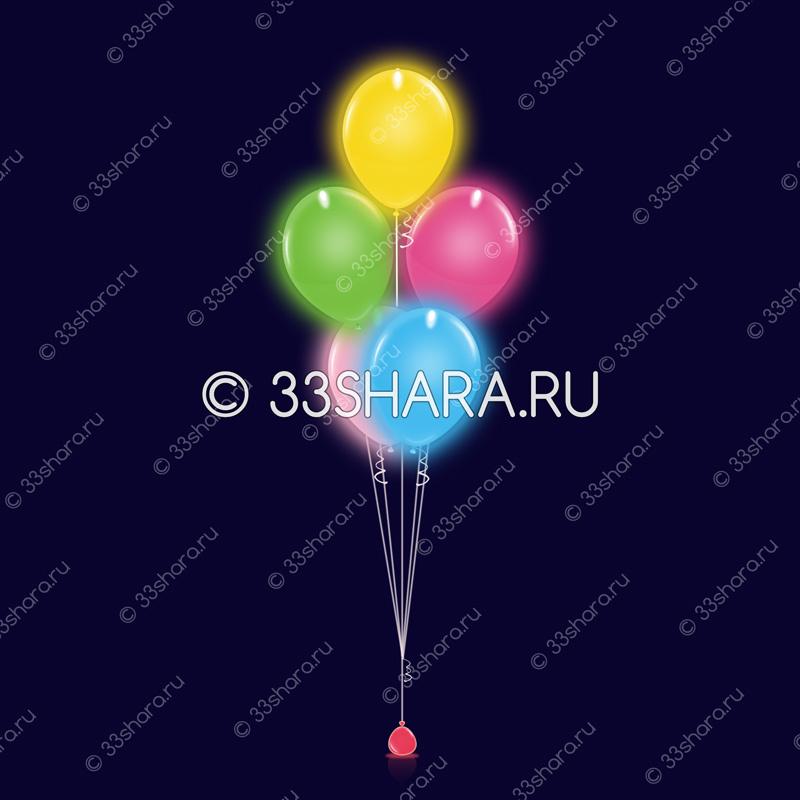 8-08 Фонтан-из-5-светящихся-шаров