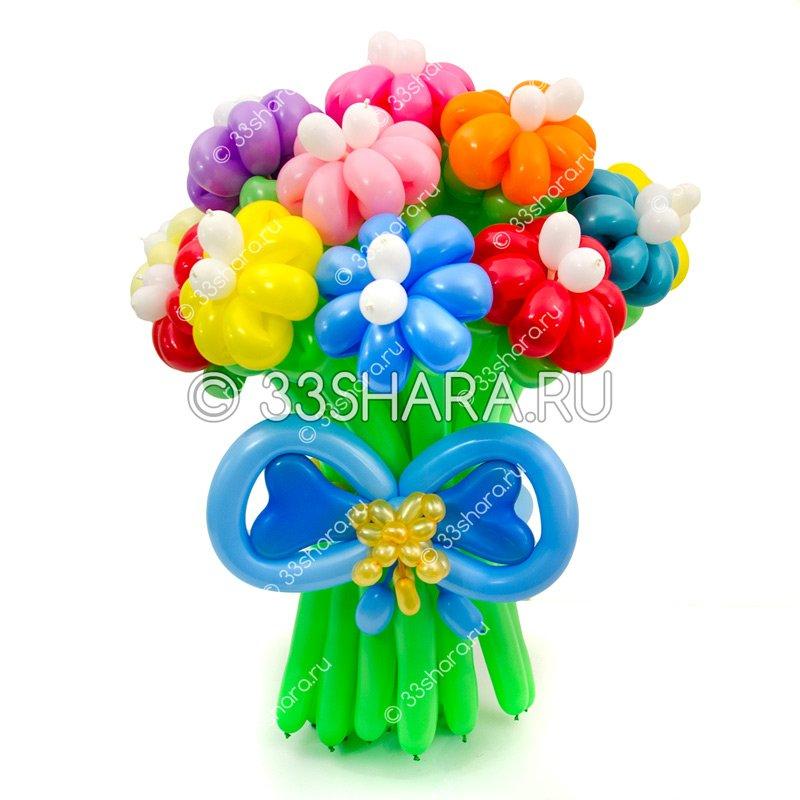Украшения и подарки из шаров