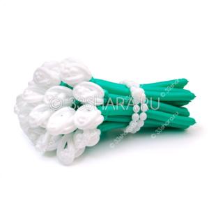 """1-50 Букет из воздушных шаров """"Белые розы"""""""