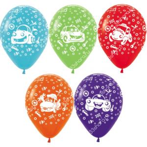 4-46 Гелиевые шарики - машинки