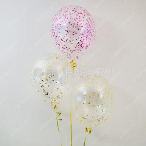 4-48 Гелиевые шарики с конфетти во Владимире