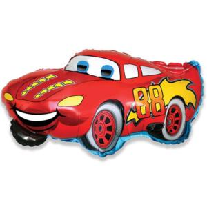 901662 Фольгированный шар гоночная машина