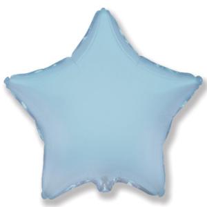 Звезда голубая с гелием